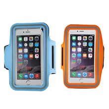 2016 fitness sport armband for mobile phone, Neoprene reflective armband for iPhone 7