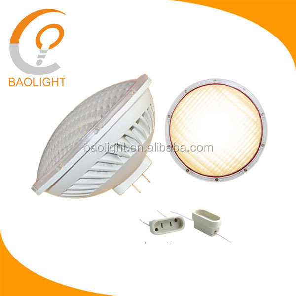 12v 120v 300w replacement par56 led swimming pool light gx16d base 36w 3600lm warm white