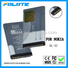 1100 mobile phone battery for nokia mobile phone bl-5c