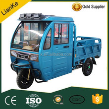 Hot sale cargo tricycle with a cabin/popular electric tricycle China