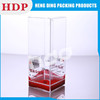 recyclable printed plastic clear box wholesale