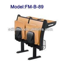 Wooden campus school desk and chair model FM-B-89