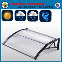 Polycarbonate awnings canopies for window and door