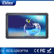 Rcstars 32'' OEM/ODM Open Frame hdmi LCD Monitor with 1500nits High Brightness & Capacitive Touch Screen(RCS-320OPTM)