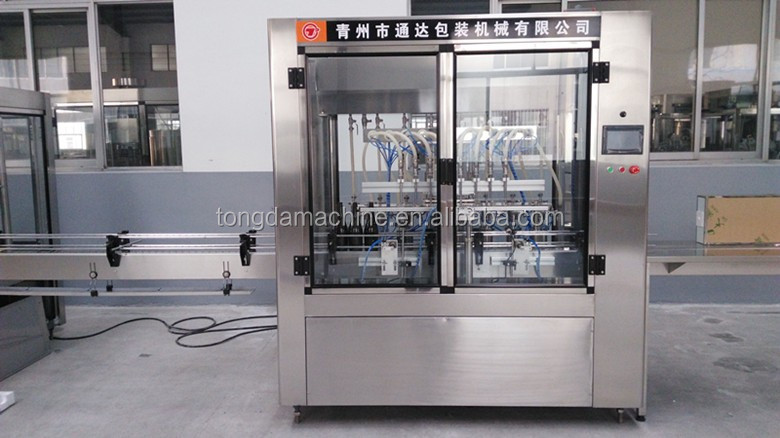 vegetable oil filling machine for small business