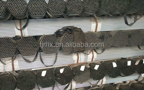 galvanized carbon steel round pipe for fence material