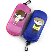 2017 Fashion Kids Sunglasses Case Glasses Case Girls Boys Cartoon Spectacle Cases Eyeglasses Eyewear Bags Accessories