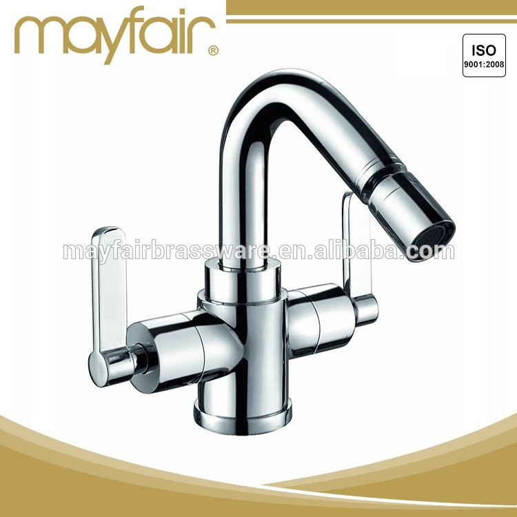 High quality single hole bidet water faucet brass polished bidet faucet