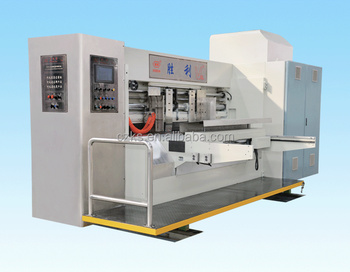 long life full automatic high speed printing slotter machine