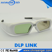 High Quality Active Shutter DLP Link Polarized 3D Glasses For Philips 3D TV