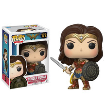 No.172Funko pop Wonder Woman action Figure character doll