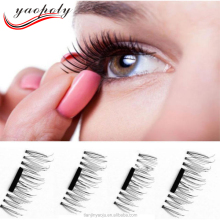 1 Pair Best Magnetic Lashes 3D Eyelashes Magnet False Eyelashes No Glue
