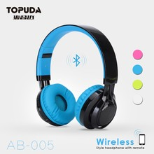 Wireless blue tooth custom made studio pro headphones
