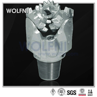 IADC code 116 milled tooth tricone drill bit for water well drilling