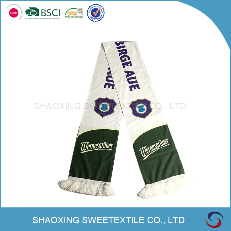 cheap price winter scarf fans football scarf