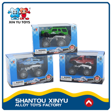 Kids fashionable collection off-road vehicles funny model car toys for sale