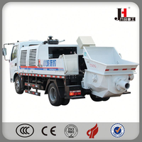 China Electric Truck Mounted Of Concrete Pump For ASEAN Market