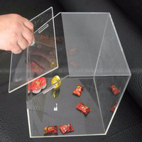 Durable Acrylic Candy Bin, Crystal Clear Wholesale Candy Box Dispenser, Acrylic stackable candy bins