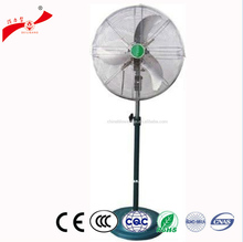Floor stand industrial air cooling heat powered stove fan