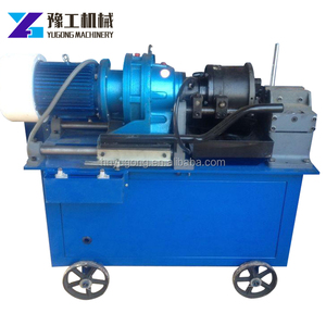 Factory directly sale rebar straight thread screw rolling machine