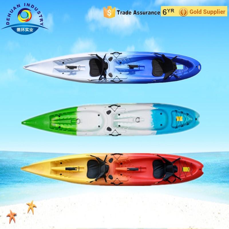 New double fishing kayak with 2 flush rod holder and new for Double fishing kayak