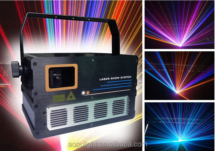 animation stage laser light 2w rgb animation laser disco