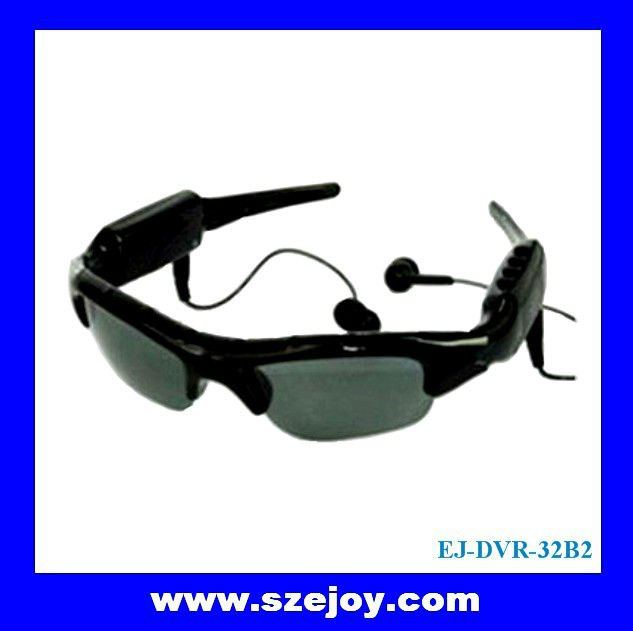 video camera eyeglasses with mp3