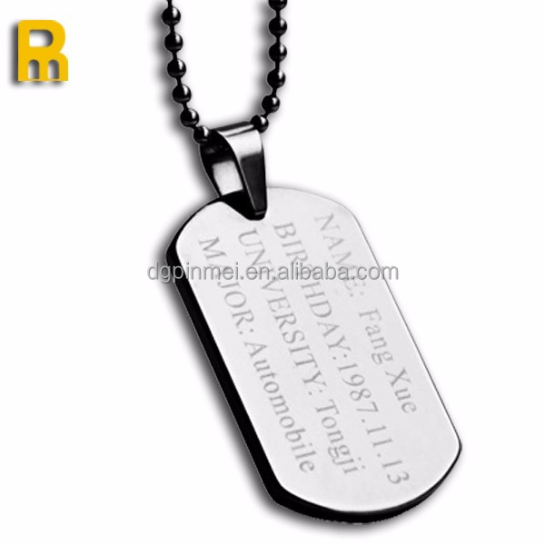 wholesale bulk military dog tags name tags for man and kids