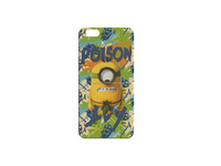 blue minion blank cell phone case with licensing agreement
