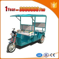 most powerful electric three wheeler closed cabin passenger tricycle