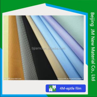ptfe membrane coated embroidery brocade fabric