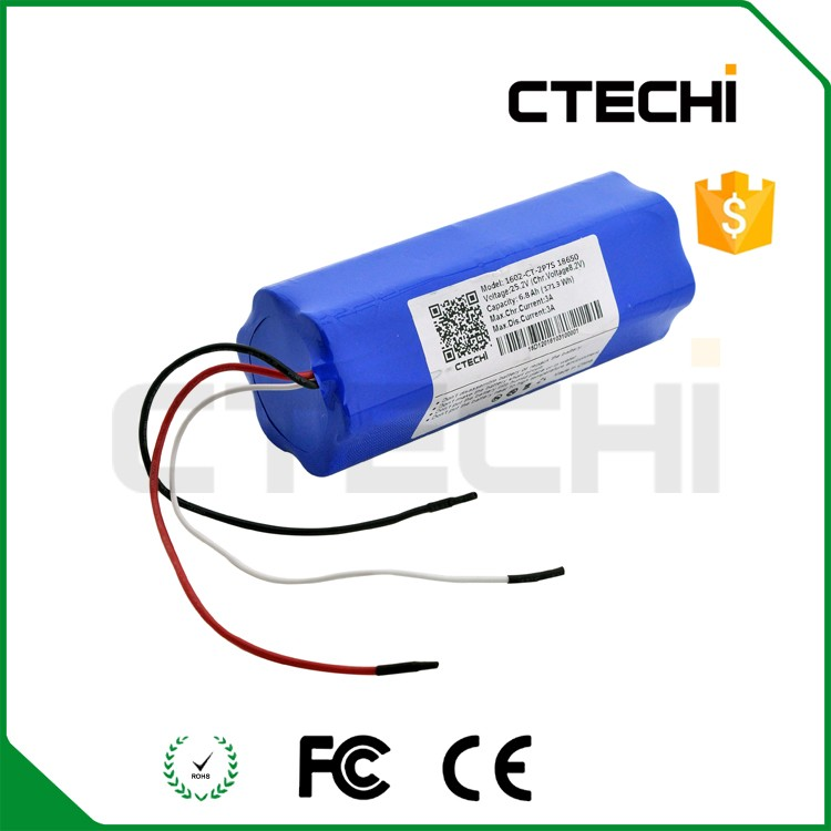 2P4S 14.4v 18650 rechargeable batteries li-ion protected