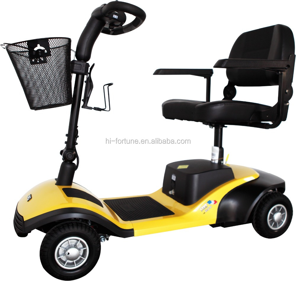 Hot Sale CE Certified Lightweight Electric Mobility Scooter for Elders, handicapped and disabled people HS430