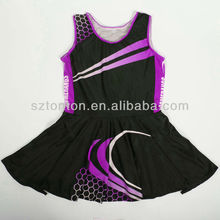 Custom bodysuit women netball dress