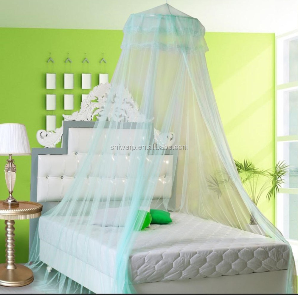 Best sale circular canopy mosquito net for double bed China home textile