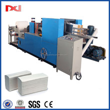 Automatic paper processing type C fold and embossing towel paper equipment machine