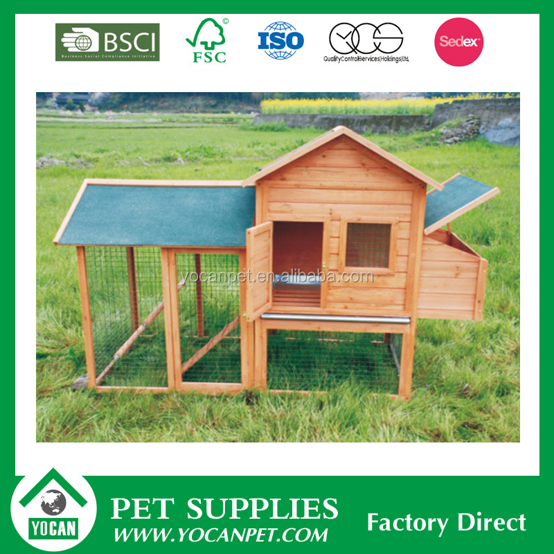 Colorful commercial chicken house designs with large run