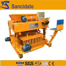 Industrial QT6-25 fly ash manual brick machine in india price
