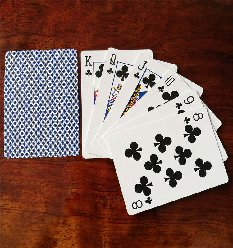 Custom Offset Printing German Blackcore Paper Poker For Casino YH1002