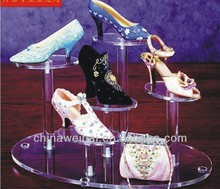 Acrylic Shoes Holder Furinture For Clothing Store