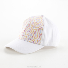 In-Choice New Arrival Fashionable Embroidery Glencheck Woman Baseball Cap