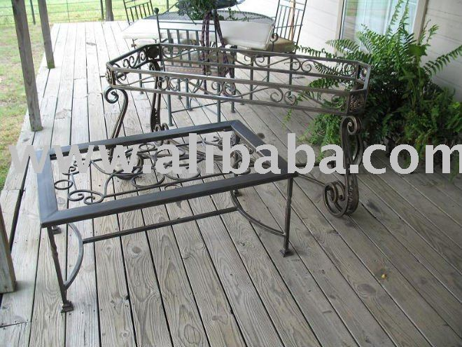 wrought iron furnitures