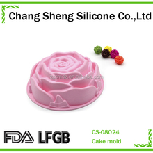 Silicone rose cake pop molds,Modern Popular design eco-friendly silicone cake molds