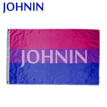 wholesale 90*150cm polyester free sample bi pride flag