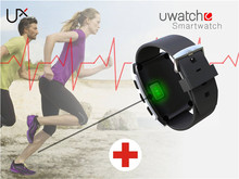 Uwatch UX Sliver Built- in Heart Rate Monitoring for Android IOS Sleep Monitor