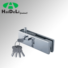 Haideli high quality stainless steel glass door clamp glass door lock