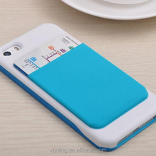 Newest Factory price Multifuctional Lycra Elastic card <strong>case</strong>/phone holder