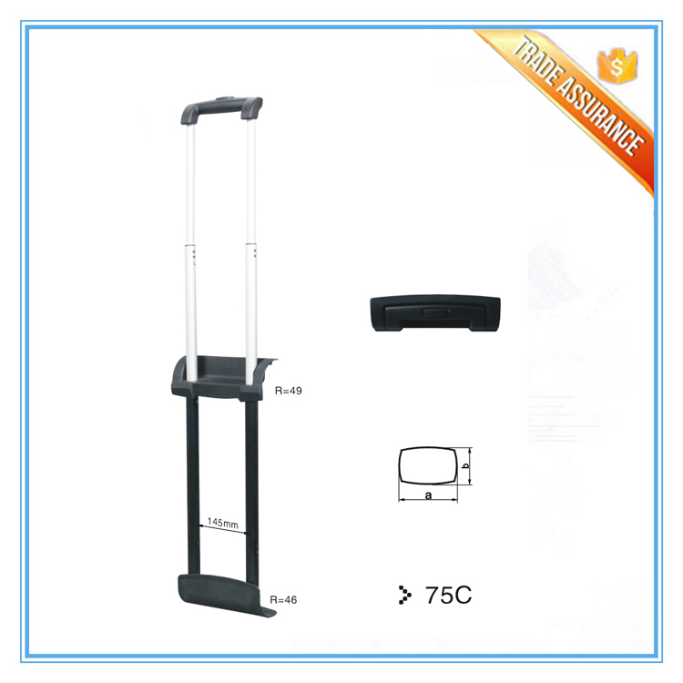 Durable travelling trolley bag parts for trolley handles