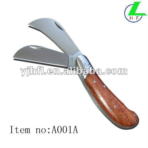 double blade hot selling garden knife