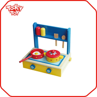 Mini Kids Play Cabinet Clean Kitchen Set Toys